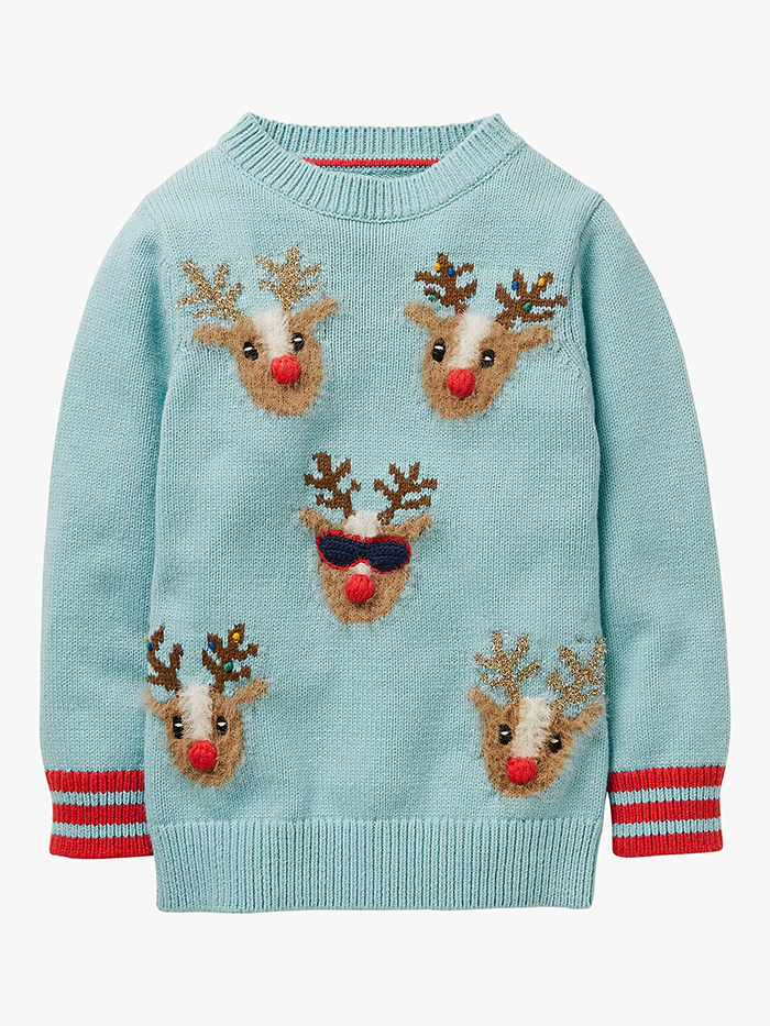 The Best Christmas Jumpers 2020. Reindeer Christmas Jumpers for Little Girls 2020. Christmas Jumpers for Juniors 2020. Jumpers for Christmas Jumper Day 2020. Cool Christmas Jumpers. Christmas Jumper Day 2020. Fashionable Christmas Jumpers for kids 2020. Best Festive Jumpers 2020. Boden Christmas Jumpers 2020.