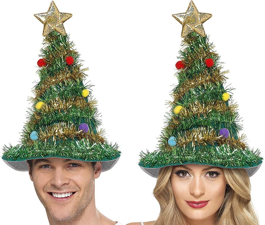 The Best Christmas Jumper Alternatives 2019. Christmas Hats 2019. Best Christmas Hats for Teenagers. Christmas Trees hats. Christmas Party Outfits 2019. Fun Christmas outfits for the Office 2019. Tacky Christmas Party Outfits 2019