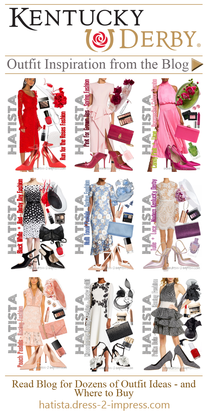 Kentucky Derby outfit ideas 2021. What to wear for the Kentucky Derby 2021. Kentucky Derby Fashion Guide 2021. Kentucky Derby Dresses 2021. Kentucky Derby Hats 2021. #kentuckyderby #outfitideas