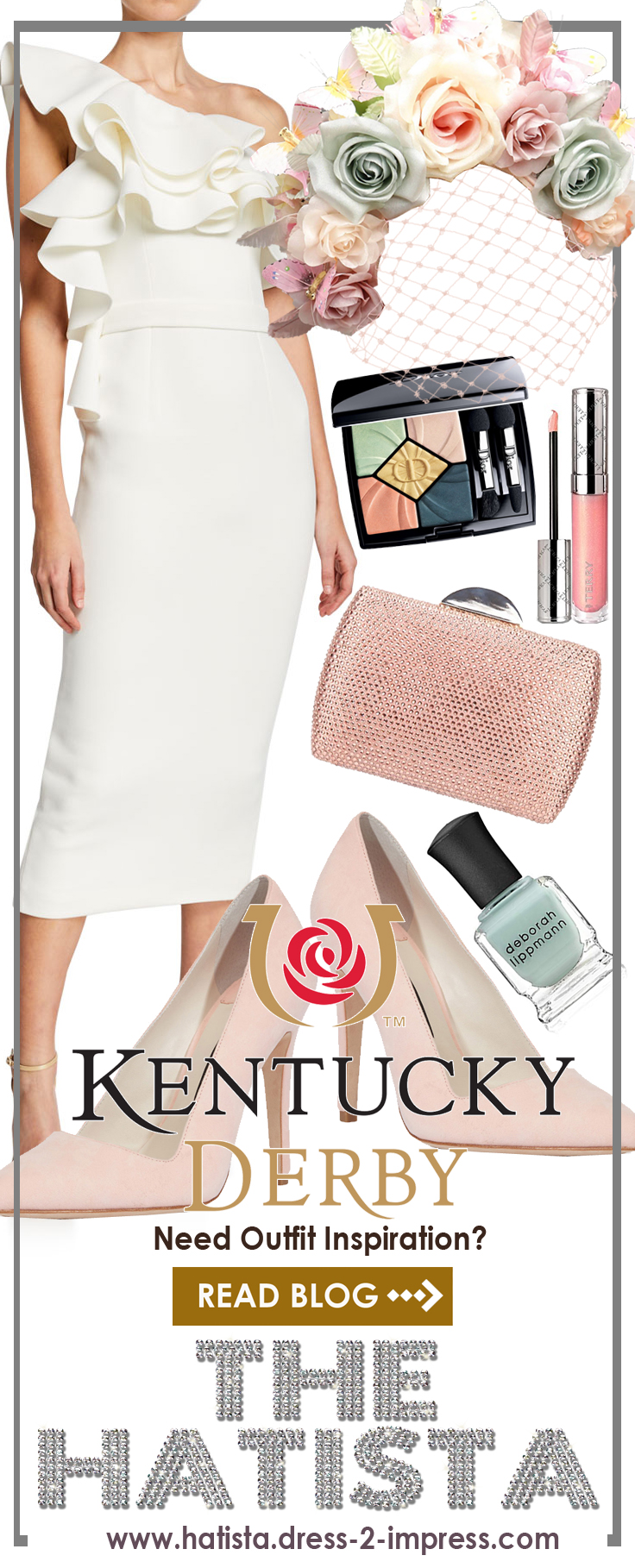 Kentucky Derby outfit ideas. What to wear for the Kentucky Derby. Kentucky Derby Fashion Guide. Kentucky Derby Attire. Kentucky Derby Dresses. Kentucky Derby Hats. #kentuckyderby