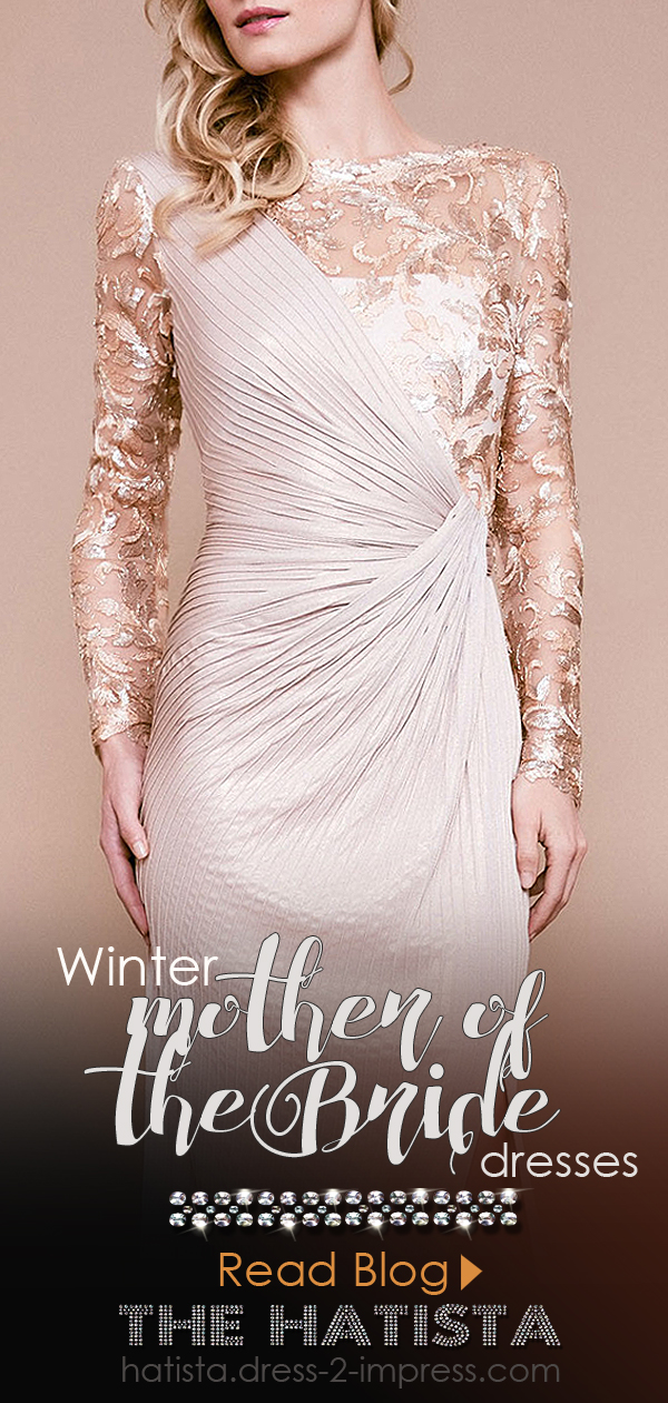 Winter Wedding Mother of the Bride Outfit Ideas. What to wear to a winter wedding. Dresses for a Winter Wedding Mother of the Bride. Fashion Blog for Winter Weddings. Winter Mother of the Bride outfit ideas. Champagne Gold Lace Mother of the Bride Dress.