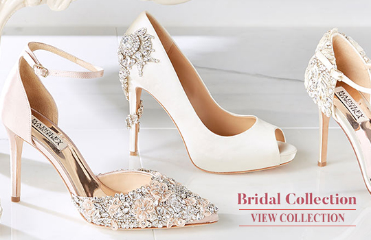 Badgely Mischka Bridal Shoes. Dillards Bridal Shoes. Wedding Shoes.