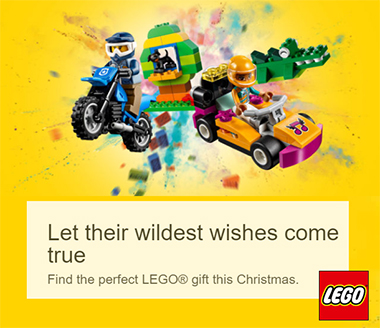 Buy lego Gifts online. Lego Christmas Gifts
