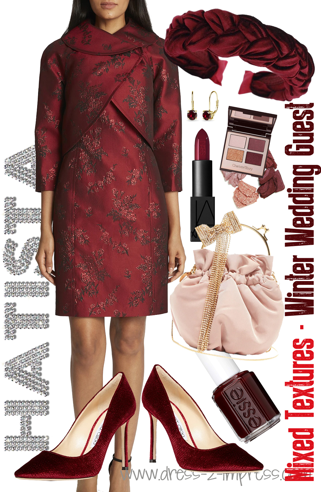 How to dress for a Winter Wedding 2021. Burgundy outfit ideas 2021. Outfits with Burgundy 2021. Winter Wedding Outfit inspiration 2021. What to wear to a Winter Wedding 2021. Winter Wedding Guests outfits 2021. How to dress for a Christmas wedding 2021. How to wear Burgundy Red 2021. What to wear to a February wedding 2021. What to wear to late winter wedding 2021.