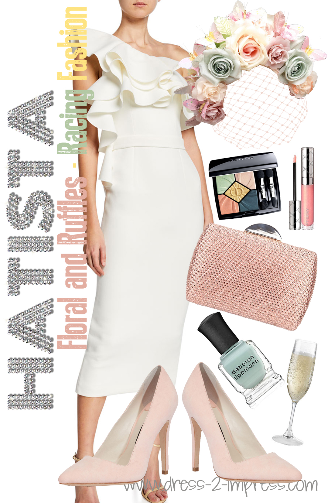 How to Wear Pastels. What to wear with Mint. Pastel Mother of the Bride Outfits. What to wear to the races. What to wear for the Kentucky Derby. What to wear to a Summer Wedding. Floral Hats. Outfit Ideas for the Races. Kentucky Oaks Day Outfits. Pastel Kentucky Derby Outfit.
