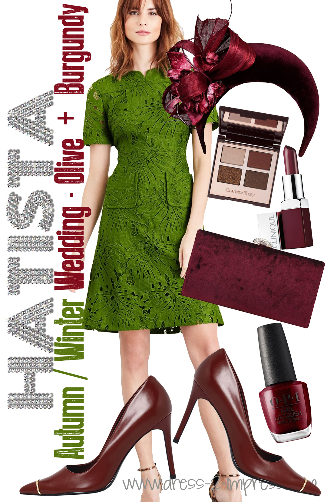How to dress for an Autumn Wedding 2020. Burgundy and Olive Green Colour Combo 2020. Outfits with Burgundy 2020. Autumn Wedding Outfit inspiration 2020. What to wear to an Autumn Wedding UK. Autumn Wedding Guests outfits 2020. How to dress for a Fall wedding 2020. How to wear Olive Green 2020. What to wear to a September wedding 2020.