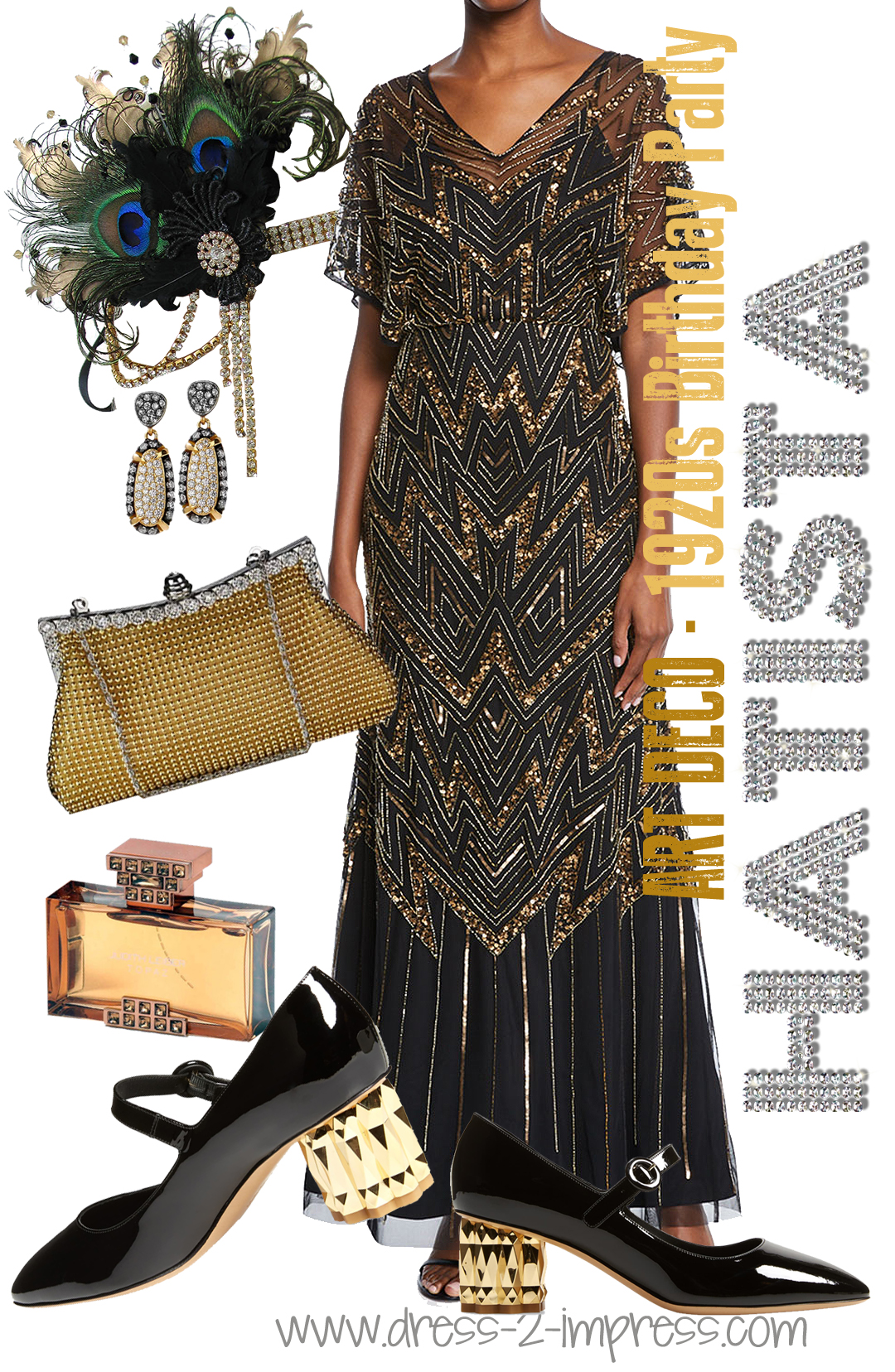 black gold gatsby outfit inspiration what to wear to a great gatsby party ideas outfit inspiration