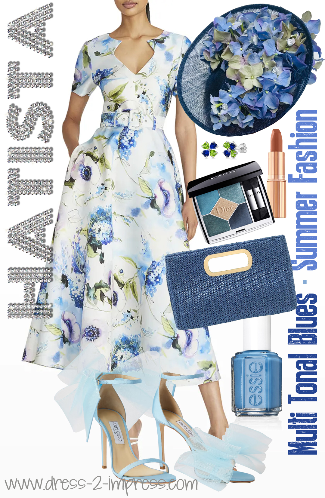 What to wear to the races. How to wear Baby Blue. Outfits with Pale Blue, Blue outfit ideas. Royal Ascot Fashion. Royal Ascot Attire. Outfit for Royal Ascot. How to wear Pastel Blue. Fashions on the Field outfits. #royalascot #outfitideas