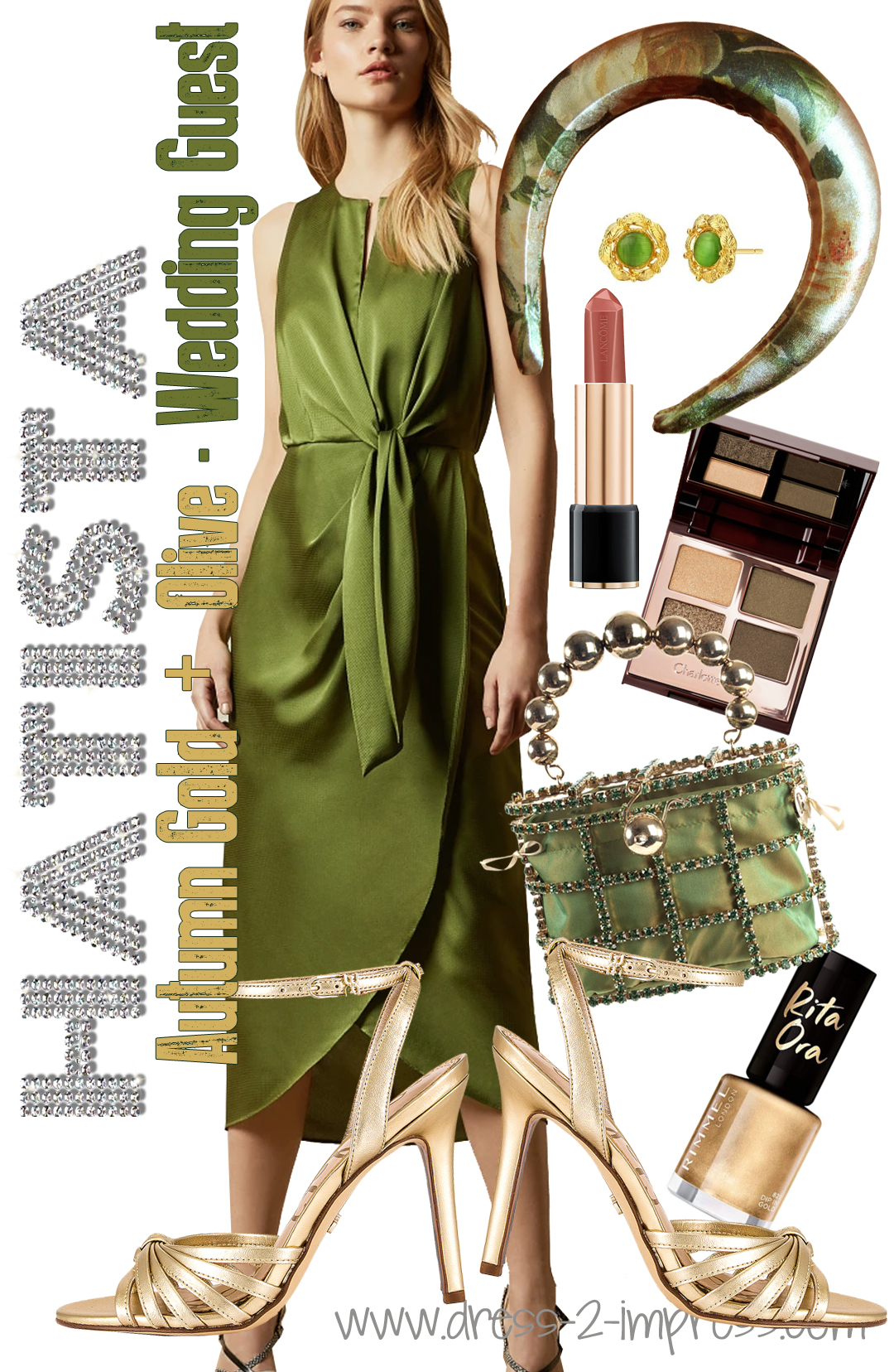 How to dress for an Autumn Wedding 2020. Autumn Wedding Guest Outfits 2020. What to wear to an Autumn Wedding 2020. Green and Gold Wedding Guests outfits 2020. How to dress for a Fall wedding 2020. How to wear Olive Green 2020. What colours go with Olive Green 2020. What to wear to a winter wedding 2020.