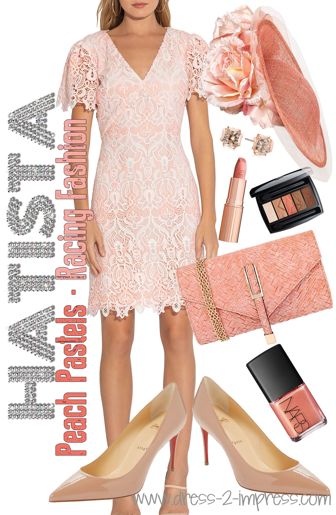 Kentucky Derby outfit ideas 2021. Floral Spring Wedding Guest Outfits 2021. What to wear for a Kentucky Derby Party 2021. Pastel outfits for the Kentucky Derby 2021. Kentucky Derby outfit inspiration 2021. Lace Dress for the Kentucky Derby 2021. Peach Lace Dress. Peach outfit for Kentucky Derby 2021. Kentucky Derby Party outfits 2021. Kentucky Derby Party outfits 2021. Kentucky Derby Fashion outfits 2021.