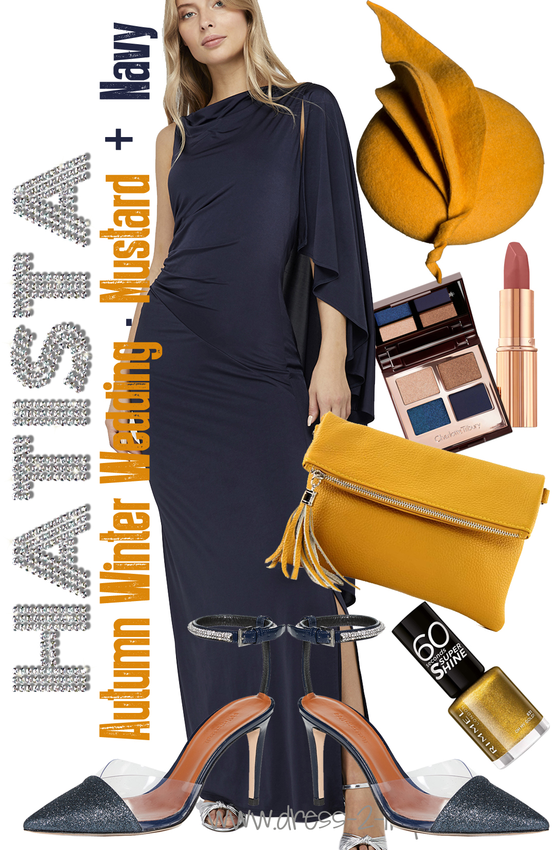 Navy And Mustard Yellow Outfits What To Wear A Winter Wedding