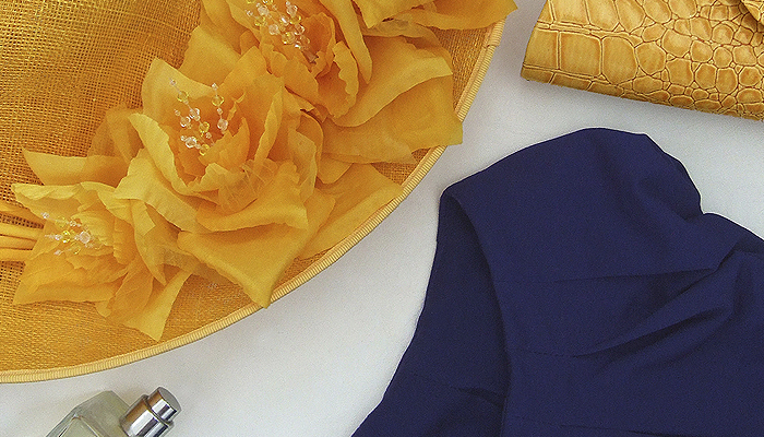 How to Wear Yellow. Outfit ideas and inspiration on what to wear with yellow. What to wear for a day at the races. What to wear for a summer wedding