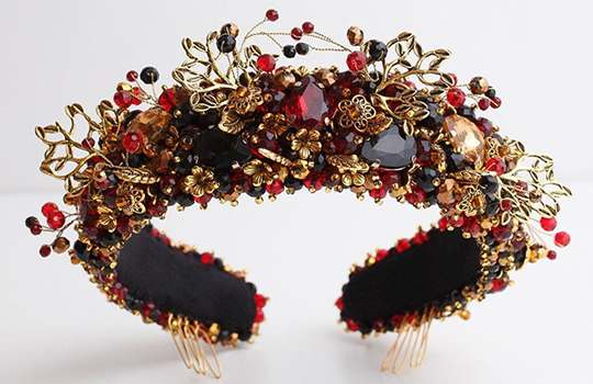 Where to find the best embellished headbands. Embellished Headbands 2019.