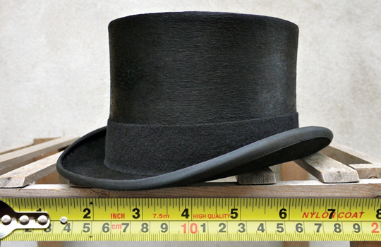 How to measure your head for Hats. Mens Top Hat Sizes. Understand Mens Hat Sizes