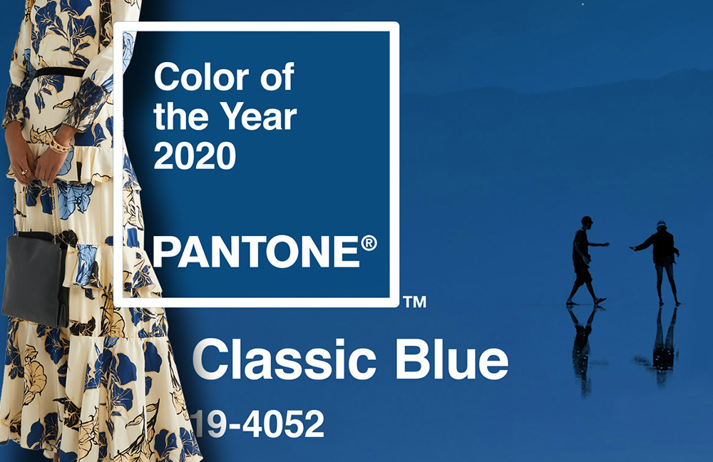 Pantone Color of the Year 2020 Classic Blue. Pantone Classic Blue Outfits. How to wear Pantone Classic Blue. What to wear with Pantone Classic Blue. What to wear to the Races