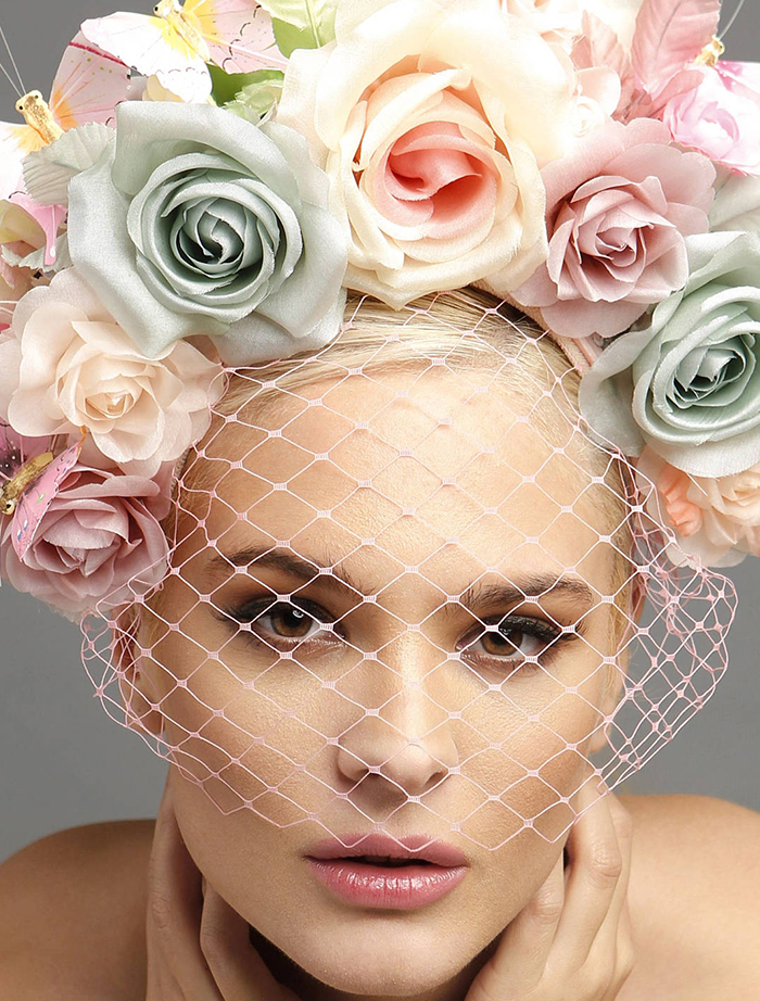 Pastel Outfits for Melbourne Cup Carnival Oaks Day. Fashions on the Field Outfit ideas. What to wear for the Melbourne Cup. How to dress for the Melbourne Spring Carnival. What to wear to Melbourne Races. What to wear to the Races. Floral Crowns. Flower Crowns.