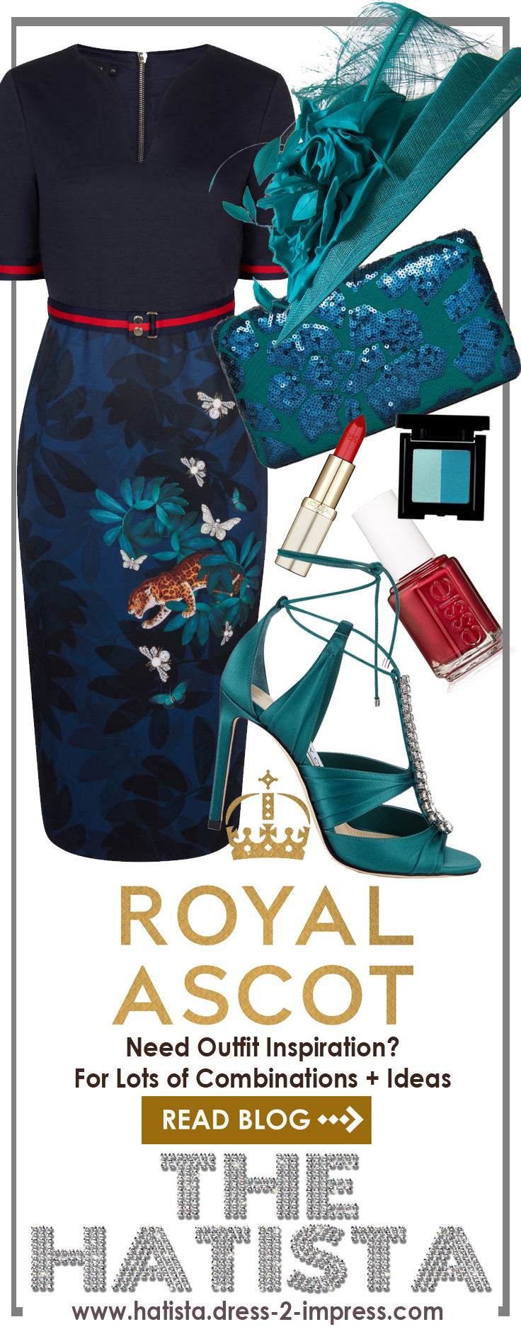 Royal Ascot outfit ideas. What to wear for Royal Ascot. Royal Ascot Style Guide. Royal Ascot Hats. Royal Ascot dresses. Hats for Royal Ascot. #royalascot #ootd #outfitideas