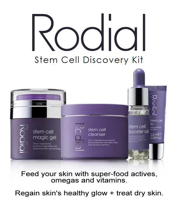 Rodial Stem Cell Discovery. Rodial Stem Cell Magic Gel. Rodial Stem Cell Cleanser. Rodial Beauty Products. Anti Ageing Skin Care. Rodial Anti Ageing Skin Care.