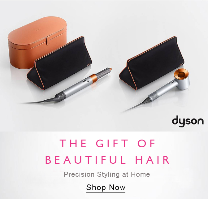 Dyson Airwrap in Copper. Buy Genuine Dyson Airwrap online. Best Deals on Dyson Supersonic Hairdryer. Buy Genuine Dyson Corrale online.