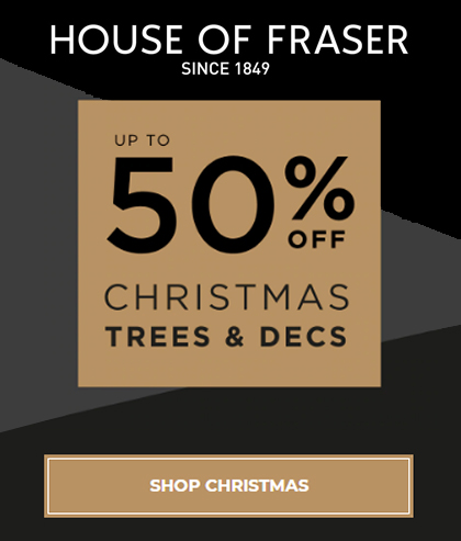 House of Fraser Christmas Shop 2020. House of Fraser online Store. House of Fraser Christmas Decorations 2020. Christmas Decorations 2020. House of Fraser Gift Guide 2020.