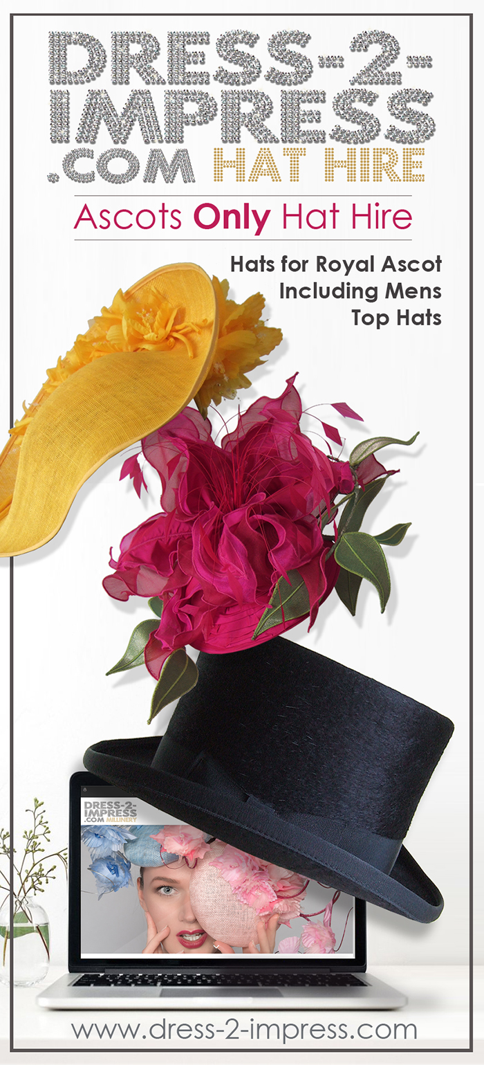 Royal Ascot Hat Hire 2021. Hat Rental for Royal Ascot 2021. Hire Top Hats for Royal Ascot 2021. The only Hat Hire at Royal Ascot. Hire Royal Ascot Hats. Hats for Royal Ascot