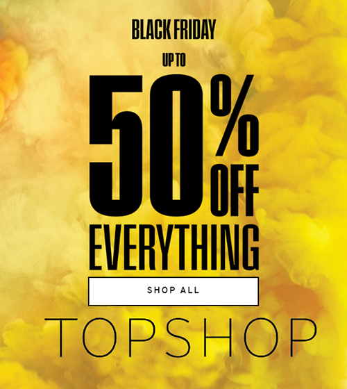 TopShop Sale. Top Top Black Friday Sale. Special Offers at Topshop. TopShop Dresses.