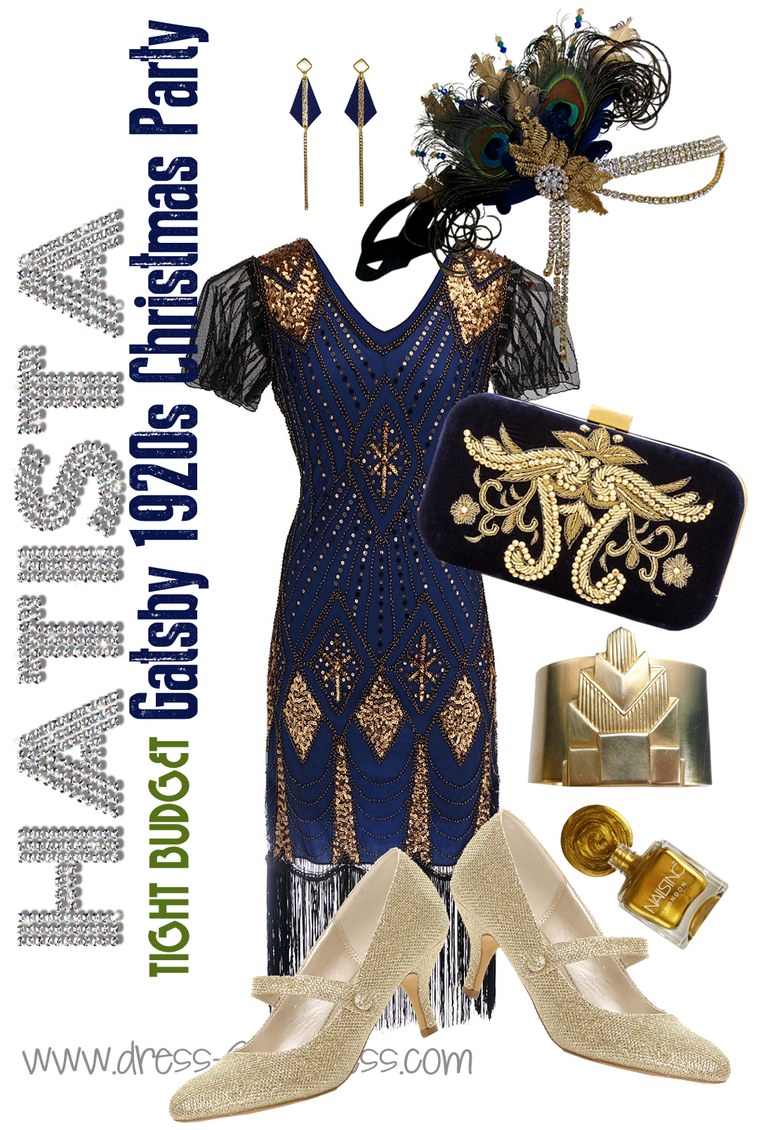 Great Gatsby Party Ideas, What to wear to a 1920s Theme Party. 20s New Years Eve Party ideas. Gatsby Halloween Party Outfits. Great Gatsby Christmas Party outfits. 1920s Birthday Party. Outfit Inspiration for 1920s Fashion. Art Deco Fashion, 1920s Dress, Speakeasy Party Costume,  #1920s #gatsbyheadpiece #speakeasy #newyearseve #christmasparty