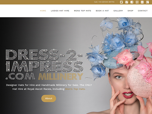 Dress-2-Impress.com. Hat Hire and Handmade Millinery for Sale. The only Hat Hire at Royal Ascot. Royal Ascot Hats. Hats for Royal Ascot