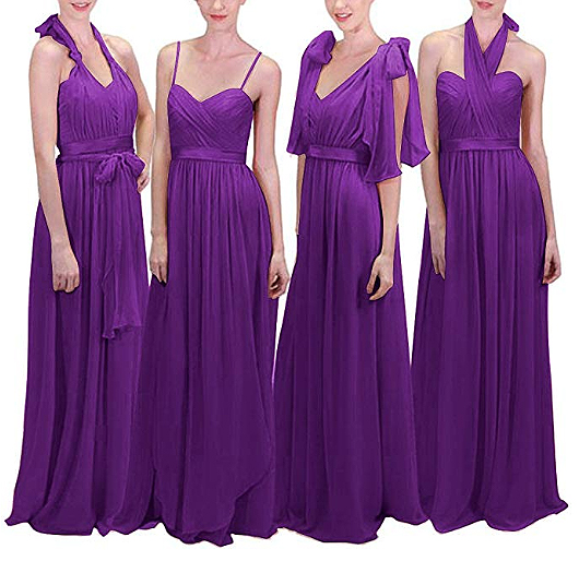 Purple Infinity Bridesmaids Dress. Mardi Gras Wedding ideas. Mardi Gras bridesmaids outfits. Purple Infinity Dresses. Mardi Gras Bridesmaids. Planning a Mardi Gras Wedding